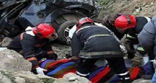 حادث سير تكشف  سيارة محملة بحشيش مدينة شفشاون