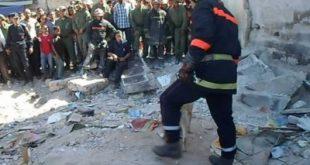 مصرع عامل بناء وإصابة ثلاثة في انهيار منزل بالرباط