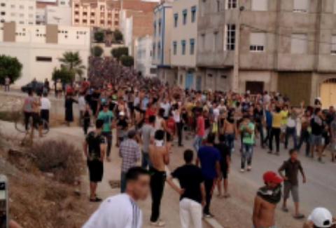 """توقيف أزيد من 80 شخصا خلال مسيرة """"الوفاء"""" بامزورن"""