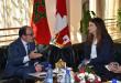 إلياس العماري يستقبل سفيرة كندا بالمغرب