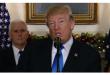 ترامب يعترف رسميا بالقدس عاصمة لإسرائيل ويأمر بإعداد خطة لنقل السفارة الأمريكية إليها
