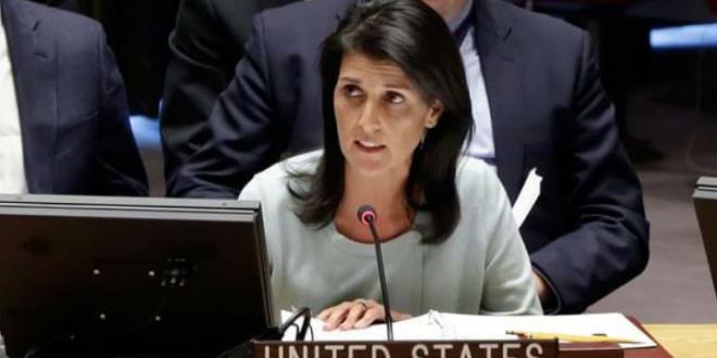 هايلي تحذر الدول التي تنوي تأييد القرار حول القدس في الجمعية العامة للأمم المتحدة