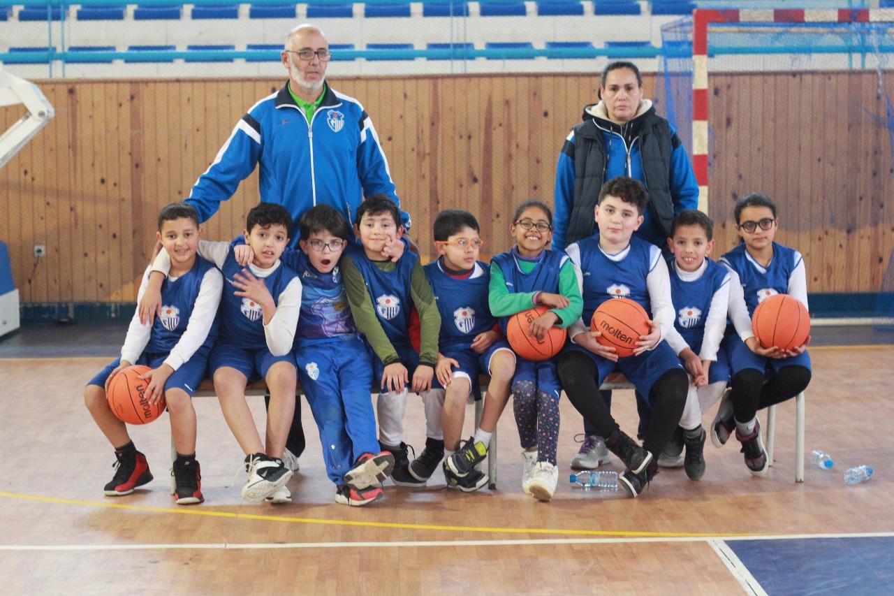 نتيجة بحث الصور عن صغار اتحاد طنجة لكرة السلة