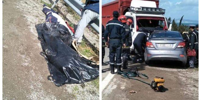 وقعت صبيحة يوم الاحد 11مارس 2018 حادثة سير مميتة دهب ضحيتها ثلاثة أفراد