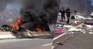 صادم…مصرع ستة أشخاص في حادثة سير على الطريق السيار الرابط بين أكادير ومراكش