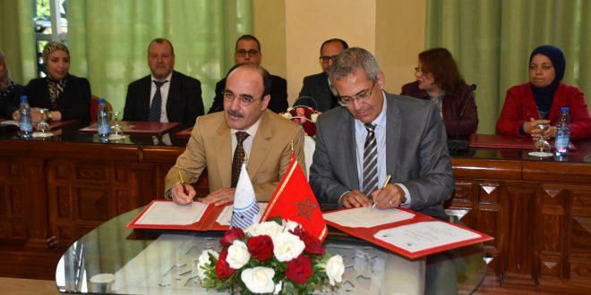 العماري يوقع اتفاقية شراكة مع ووزارة إصلاح الإدارة والوظيفة العمومية