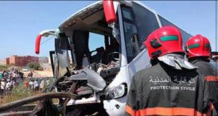المغرب.. حصيلة حوادث السير بالمناطق الحضرية خلال الأسبوع الماضي