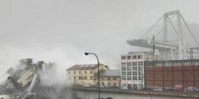 إيطاليا: ارتفاع ضحايا انهيار جسر جنوة إلى 38 قتيلا