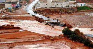 لطفك يا الله… أمطار طوفانية تتسبب في خسائر مادية مهولة نواحي أزيلال