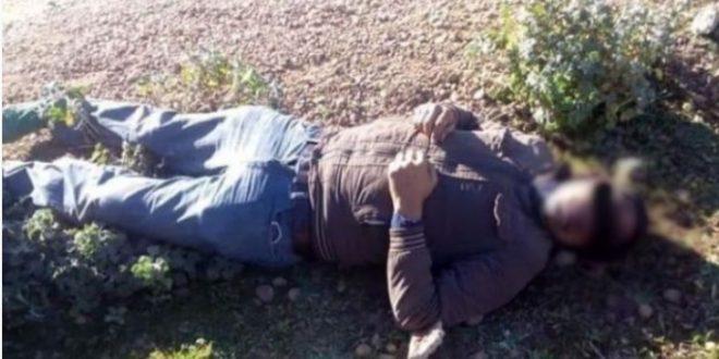 منطقة اجزناية تهتز على وقع على جريمة قتل