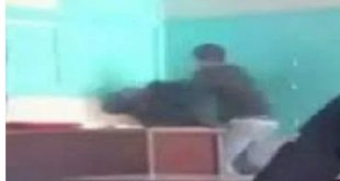وقع صباح اليوم.. تلميذ يعنف أستاذته بالثانوية الاعدادية مولاي سليمان