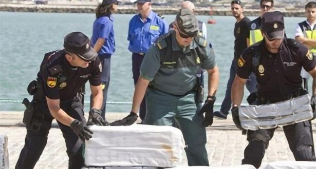 تفكيك شبكة دولية لتهريب الكوكايين من امريكا اللاتينية إلى إسبانيا عبر البحر