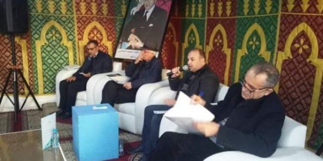 تطوان صعقة كهربائية تتسبب في وفاة رئيس فرع اتحاد كتاب المغرب اتناء إلقائه للكلمة