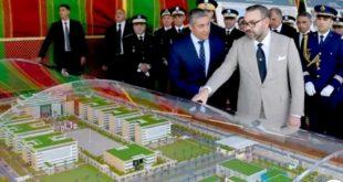 الملك محمد السادس يعطي انطلاقة أشغال إنجاز المقر الجديد للمديرية العامة للأمن الوطني بالرباط