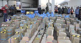 إدارة الجمارك : حجز أزيد من 8 أطنان من مخدر الشيرا منذ بداية أكتوبر