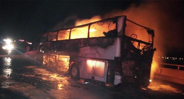 السعودية.. مصرع 35 شخصا وإصابة 4 آخرين إثر حادث سير بمنطقة المدينة المنورة