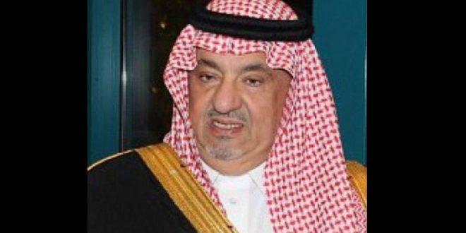عاجل.. السعودية تعلن وفاة الأمير سعود بن عبد الله بن فيصل آل سعود