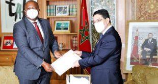 بوريطة يستقبل نظيره البوروندي حاملا رسالة من رئيس جمهورية بوروندي إلى جلالة الملك