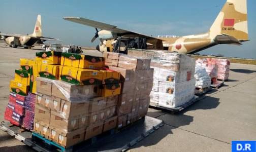 بيروت … وصول الدفعة الأولى من المساعدات الغذائية الموجهة لفائدة لبنان